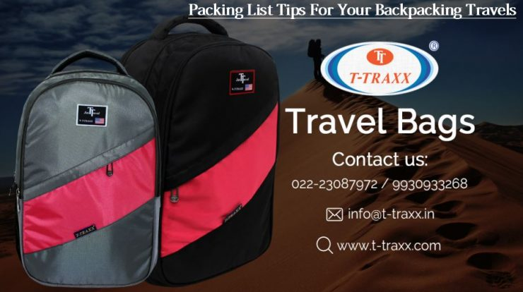 Packing List Tips For Your Backpacking Travels